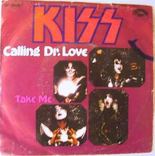 Calling dr. love   kiss   1979