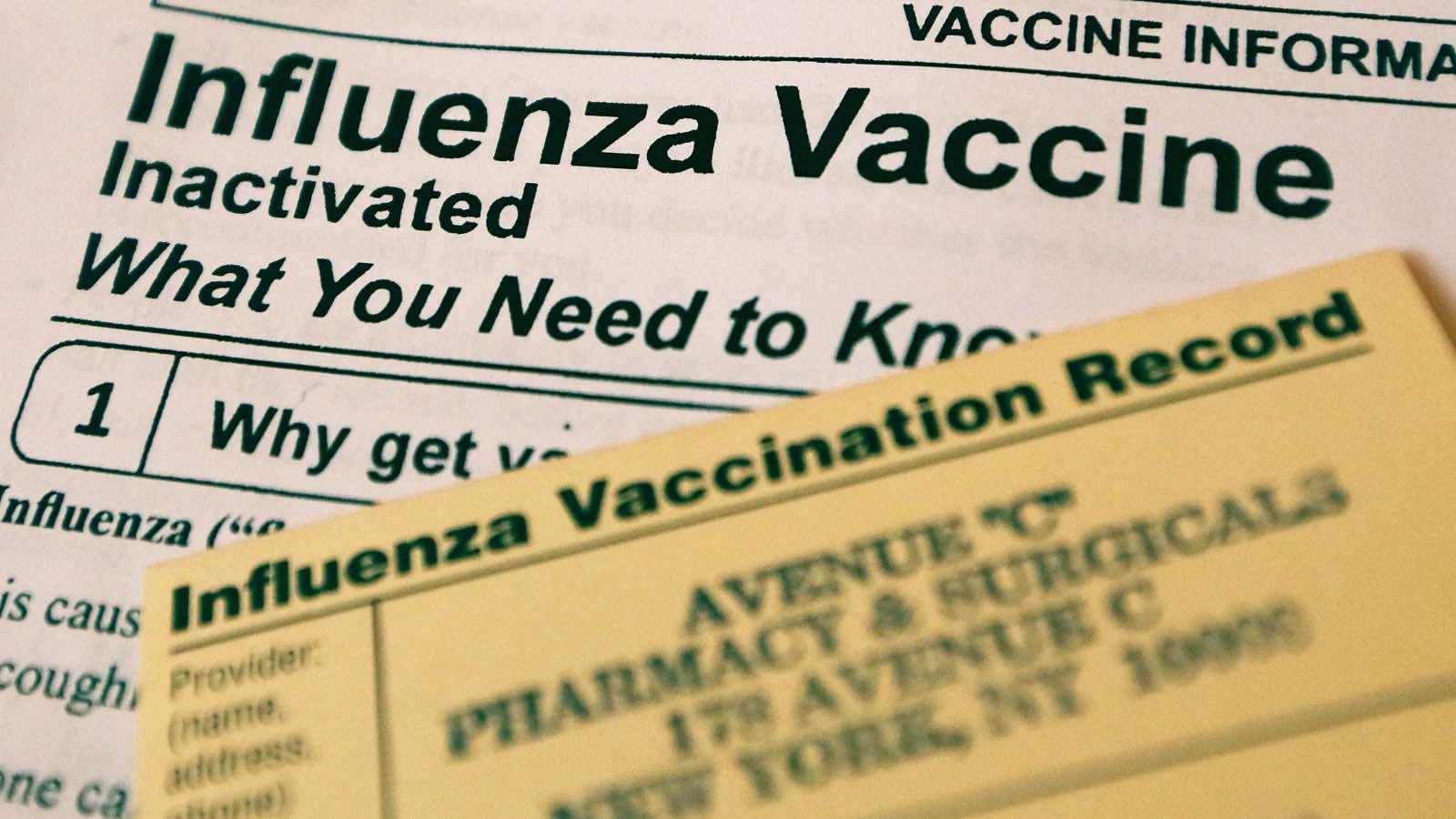 Flu vaccine 2