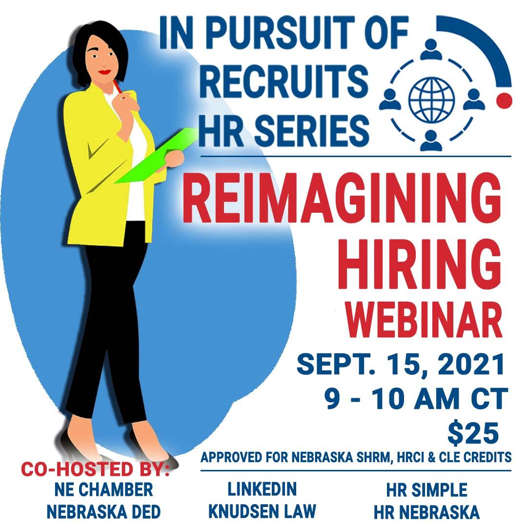 NE: In Pursuit of Recruits - Reimagining Hiring image