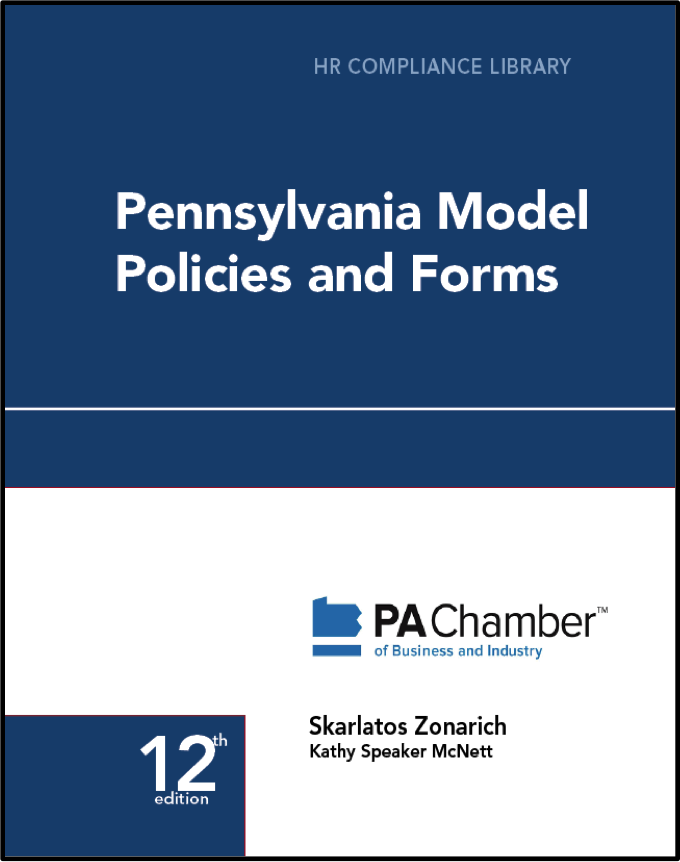 Pennsylvania Model Policies and Forms (Online) employment law image